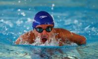 Ricardo Ten nadando