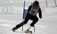 Ricardo Ten practicando esquí